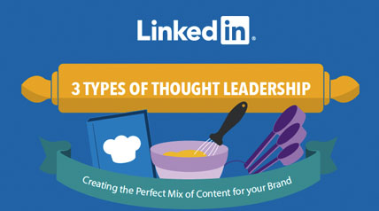 3 Types of Thought Leadership: Creating the Perfect Mix of Content for Your Brand [Infographic]