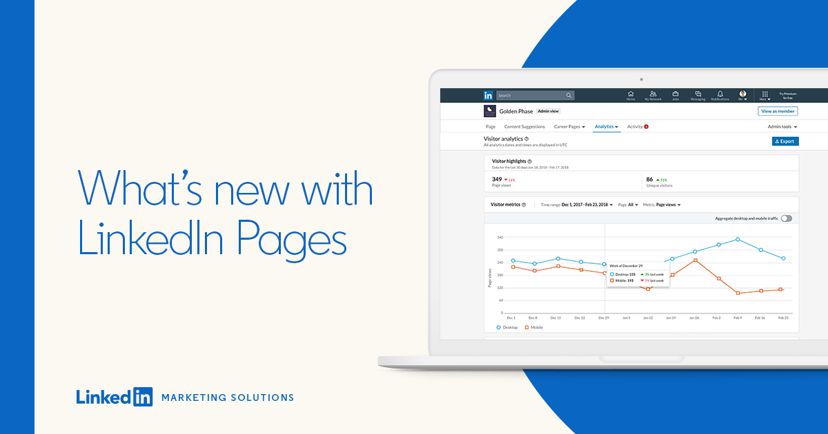 What's New with LinkedIn Pages: Engage Your Community