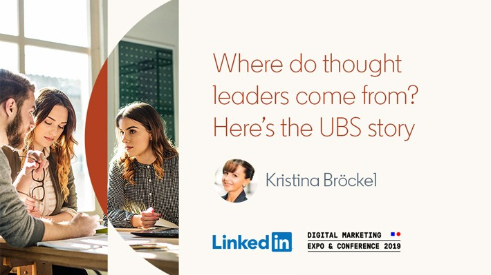 Where do thought leaders come from? Here's the UBS story