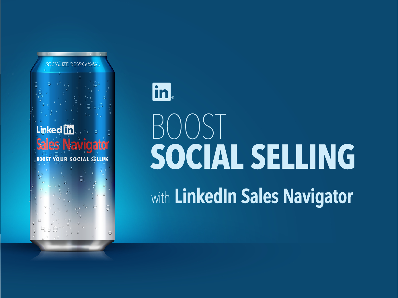 Boost Social Selling with LinkedIn Infographic